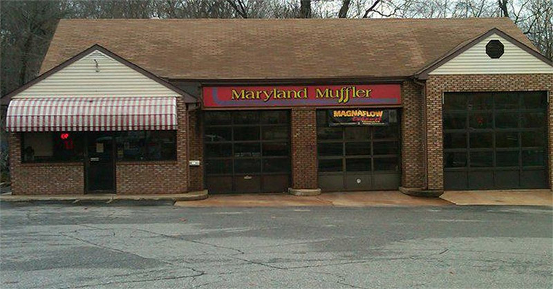 maryland muffler building
