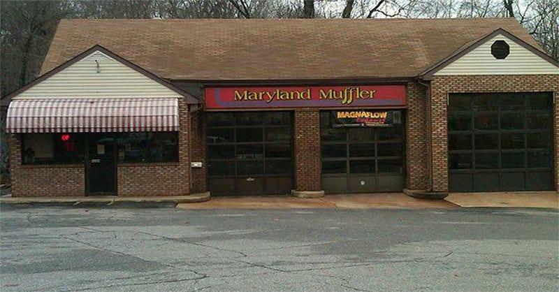 maryland muffler building
