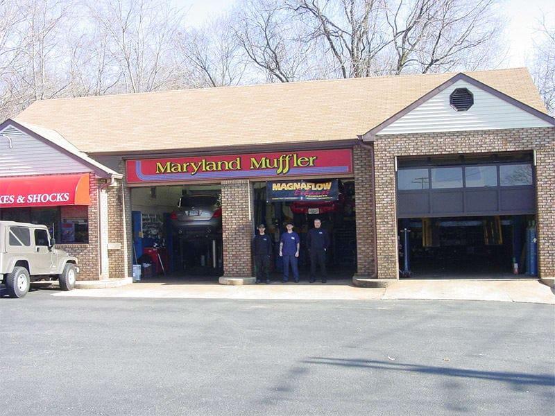 Maryland muffler work place